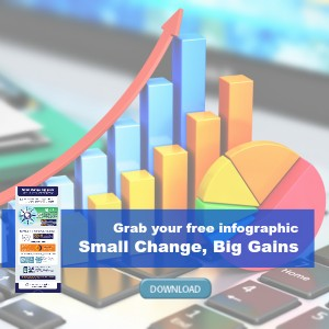 Small Change Infographic